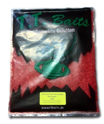Enhanced Rock Salt Crystals - RED PEPPER