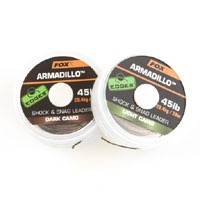 Armadillo Shock & Snag Leader 20m 45lb Light Camo