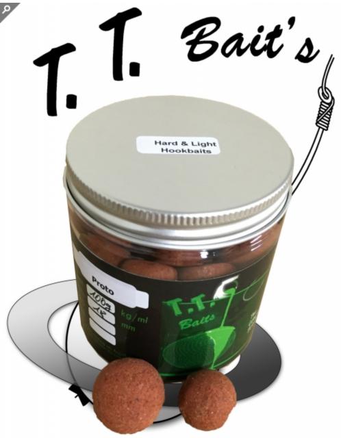 HARD & LIGHT DMPT HOOKBAITS Proto Fruit inkl. Pot Shot