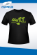 T.T. BAITS T-Shirt läufTT schwarz/fluogrün